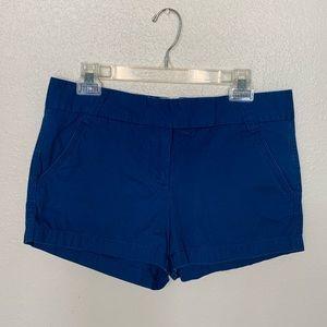3/$20🔥J. crew classic twill chino blue shorts